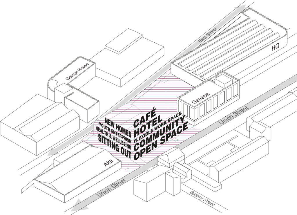 We are planning a new building on Union Street, have your say!, Millfields Trust